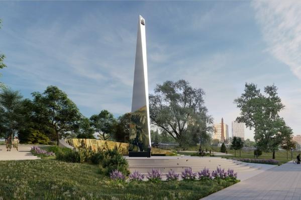 Так будет выглядеть монумент