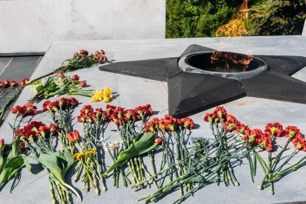 В мэрии рассказали, что низкие температуры не влияют на функционирование Вечного огня