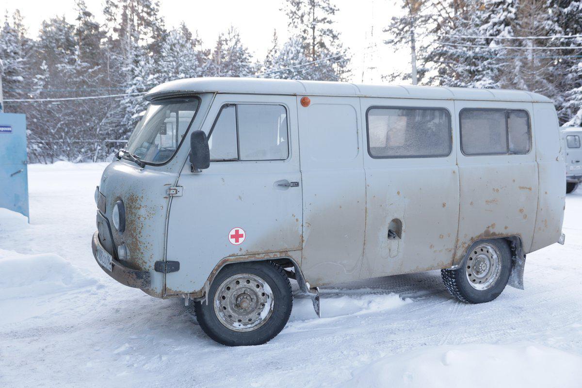 Вот такой УАЗ раньше обслуживал пациентов Алапаевского городского округа