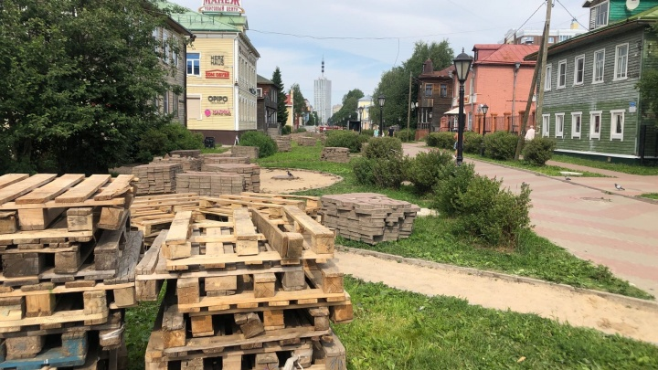 Чумбарова-Лучинского реконструируют. Рассказываем, что там сделают и когда завершат работы