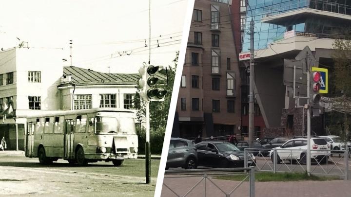 «Зачем в центре эти коробки?»: строитель из Архангельска сравнивает фотографии города разных лет