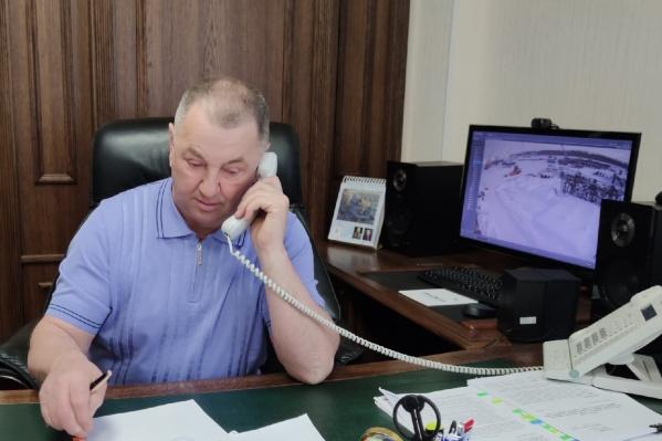 Сергей Вакарин является депутатом городской думы Тобольска