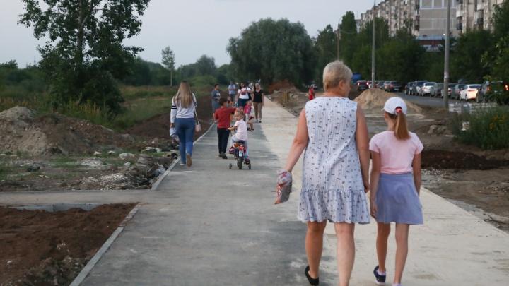 Подрядчик сорвал сроки благоустройства сквера на улице Пермякова в Автозаводском районе