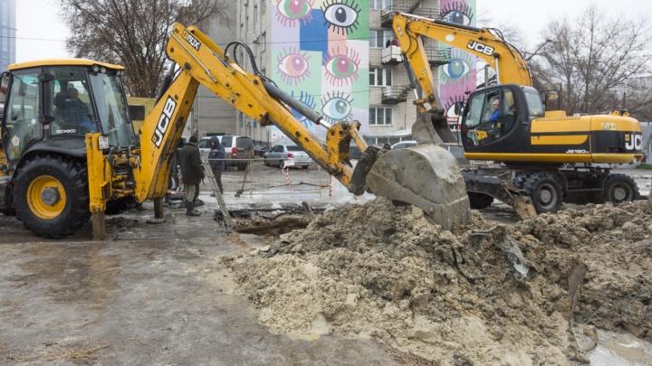 Дел-то было на полчаса: как устраняли порыв на водоводе в центре Волгограда