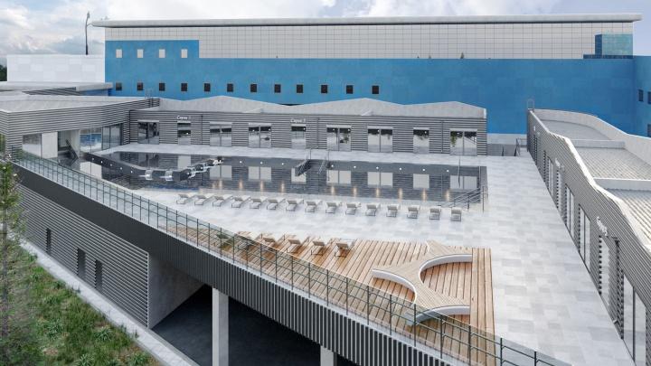 На берегу Исети построят вторую очередь аквапарка «Лимпопо»
