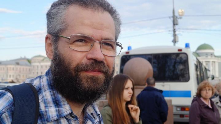 Академика РАН Хазанова задержали в Нижнем Новгороде. Его обвиняют в организации митинга
