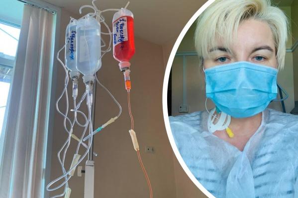 У Ларисы диагностировали рак молочной железы второй степени злокачественности
