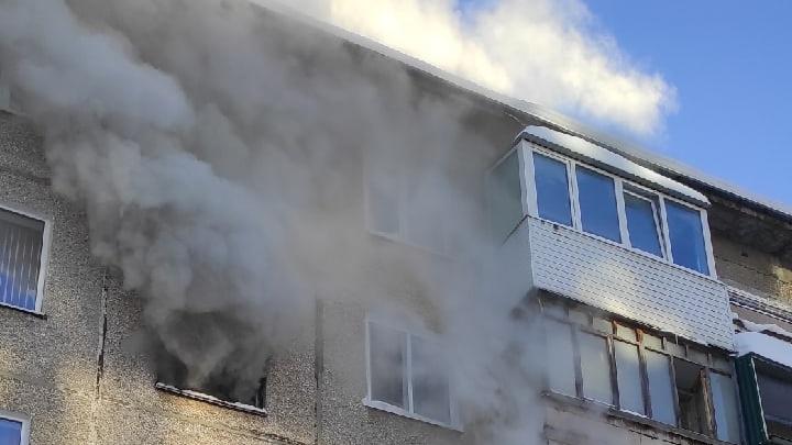 В Перми из-за пожара в пятиэтажке эвакуировали шесть человек