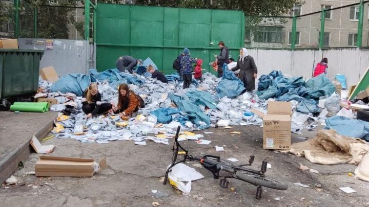 Главный таможенник рассказал о судьбе посылок, которые нашли на помойке во дворе Екатеринбурга