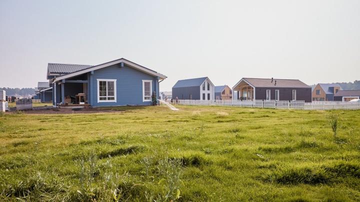 Побег из «человейника»: в городе появился коттеджный поселок, где дома стали альтернативой квартирам