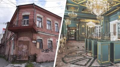 Симановский превратит заброшенный особняк в центре Екатеринбурга в золотой дворец: эскизы проекта