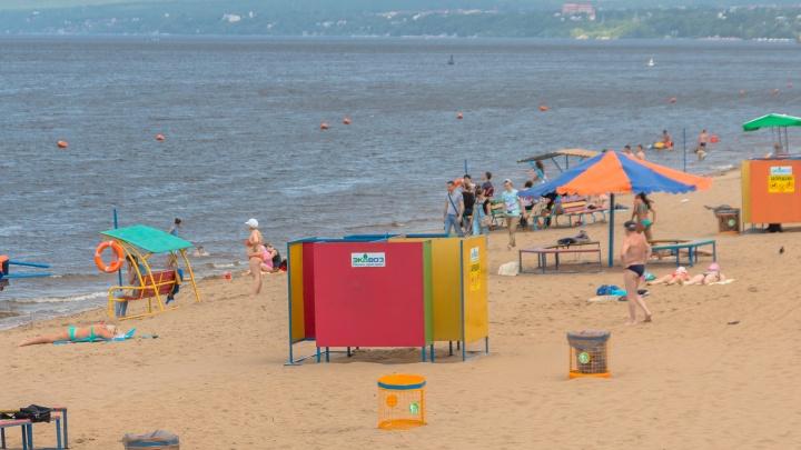 В мэрии объяснили, почему пляжный сезон в Самаре начнется только 15 июня