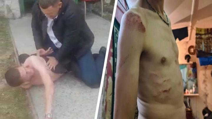 «Я же ни в чем не виноват!»: полицейские задержали сургутянина из-за подозрения в краже