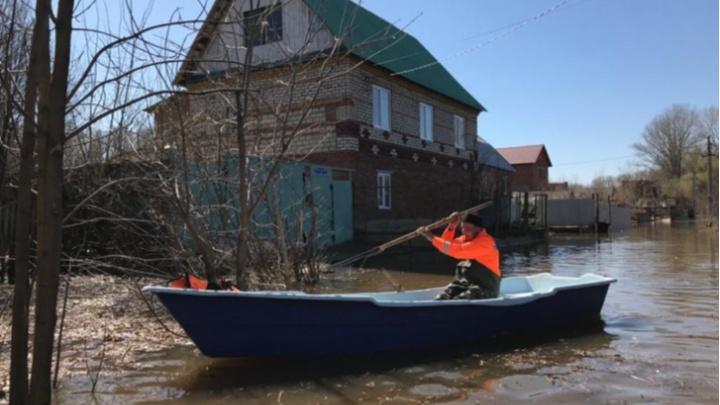 Власти рассказали, какие места в Уфе затопило из-за половодья