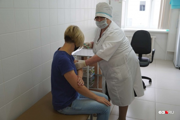 Около месяца назад в Самарской области началась массовая вакцинация
