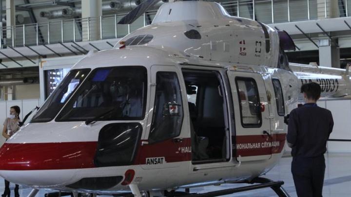 Выживших в жутком пожаре под Нижним Тагилом на трех вертолетах перевезли в Екатеринбург