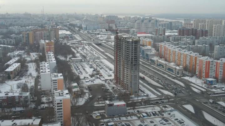 Высотная застройка Московского шоссе: площадку освободят от стоянки уже в марте