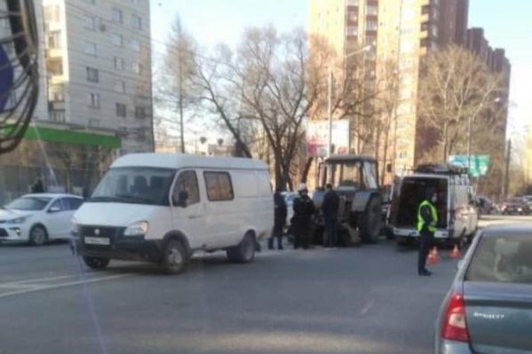 Трагедия случилась на шоссе Космонавтов
