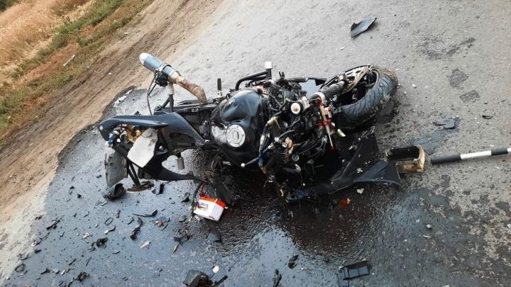 В Исилькульском районе мотоциклист погиб после столкновения с ВАЗом