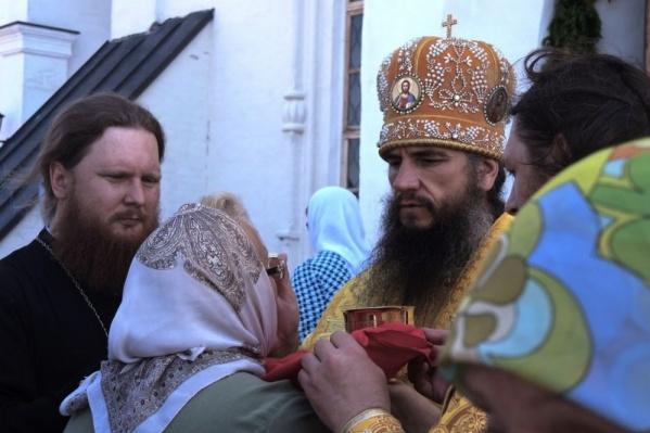 """Епископ Савватий возглавлял Тарскую епархию <nobr class=""""_"""">с 2012 года</nobr>"""