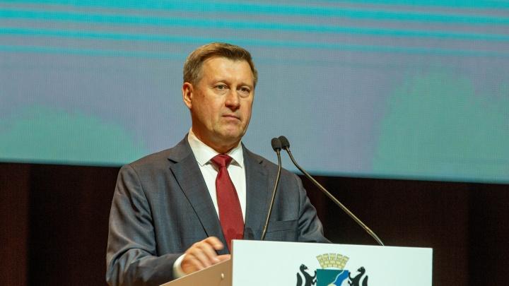 Анатолий Локоть заявил, что не намерен уходить с поста мэра Новосибирска в Госдуму