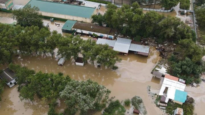 Кадры последствий тропического циклона на Кубани. Подборка разрушений и потопа из соцсетей