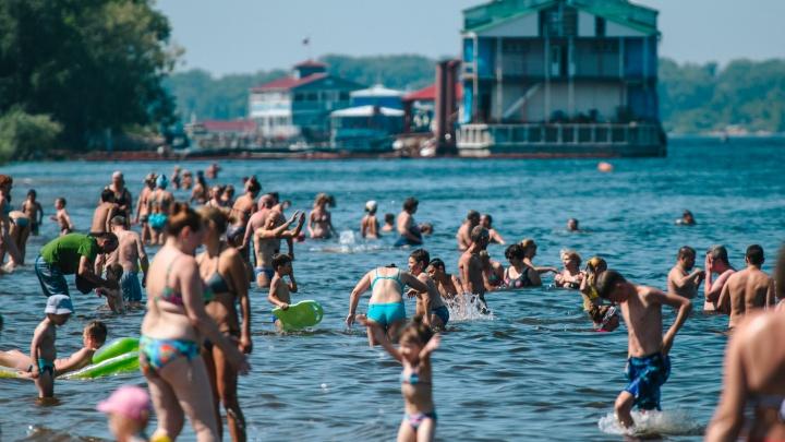 В Самаре оценили качество воды на городских пляжах