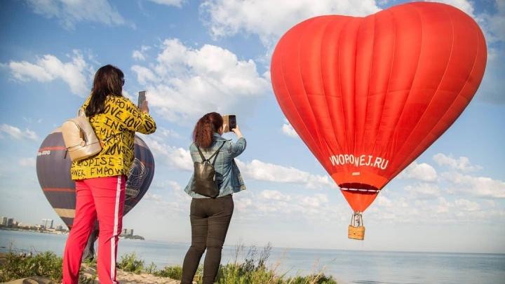 В Анапе стартовал фестиваль воздушных шаров