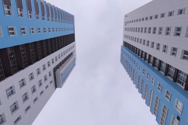 Два здания-близнеца уже введены в эксплуатацию