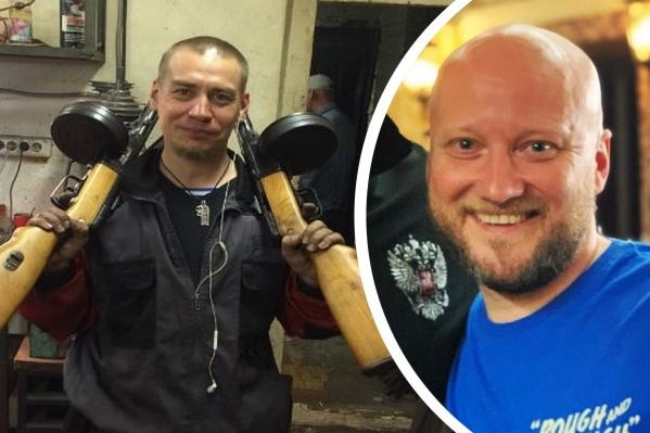Александр Скрябин (справа) записал видео в поддержку Булатова, в котором сам несколько раз оскорбил представителей ЛГБТ