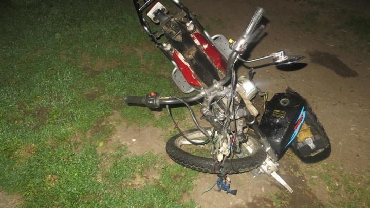 На Кубани 16-летний скутерист сбил девочку