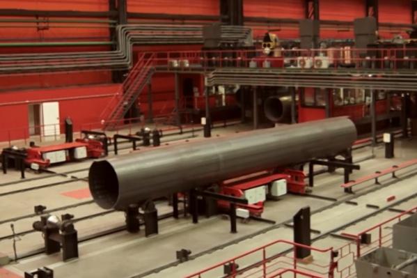 Несчастный случай произошел на производственном участке отделки и сдачи труб трубопрокатного цеха