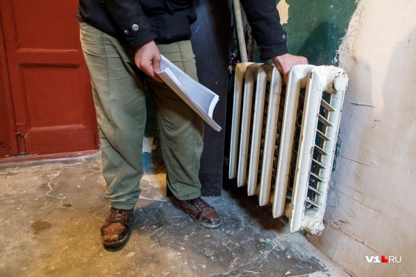 Батареи в доме такой же температуры, что и воздух в квартирах