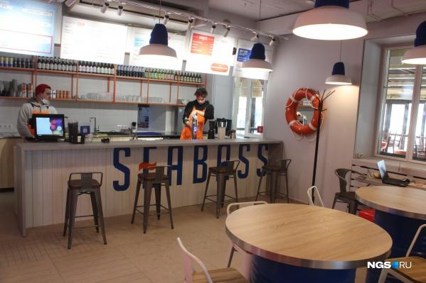 Интерьер кафе Seabass