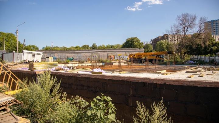 Суд признал стройку у Ботанического сада незаконной
