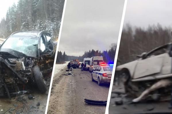 За несколько дней в регионе произошел ряд страшных аварий