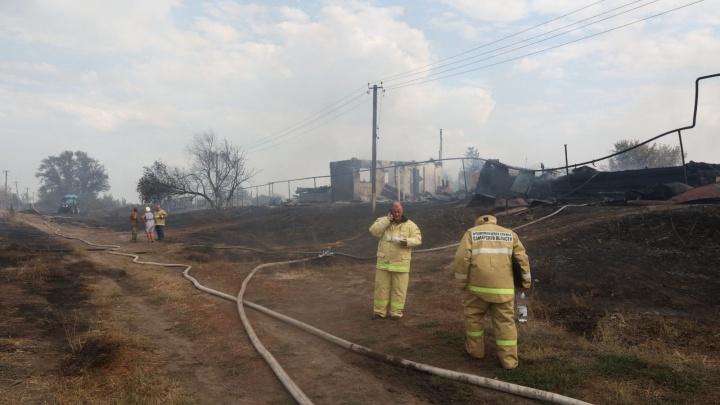 49 природных пожаров за сутки: аномальная жара в Самарской области стала причиной ЧП