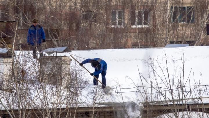 В Самаре местного жителя отдали под суд за сход снега с кровли дома