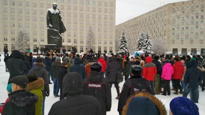 В Архангельске анонсировали митинг в поддержку Алексея Навального