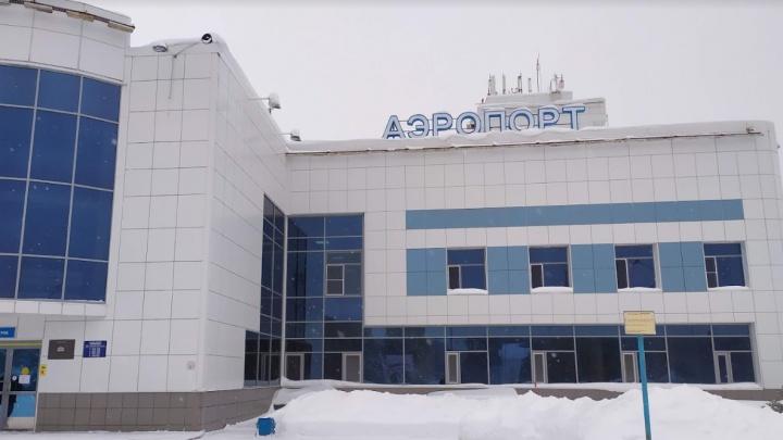 Аэропорт Советского закрыли из-за метели