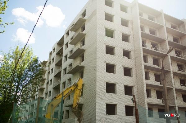 На Пятёрке в Ярославле хотят воткнуть еще несколько домов и 17-этажную гостиницу