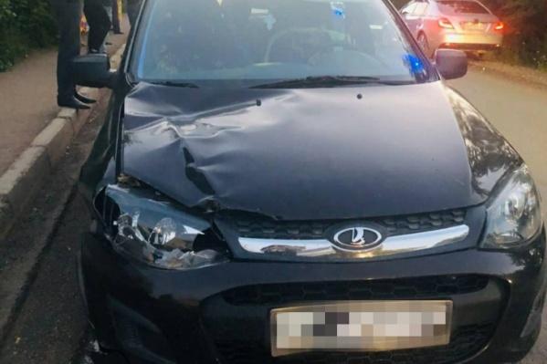 Водитель машины признал вину