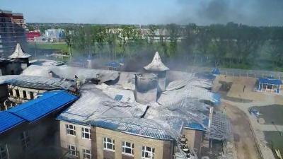 После пожара в новом детском саду в Кореновске возбудили уголовное дело. Видео