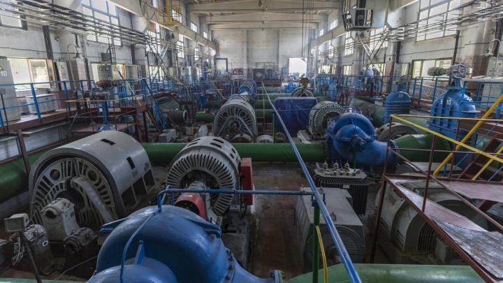 Три района Волгограда остались без воды из-за непогоды