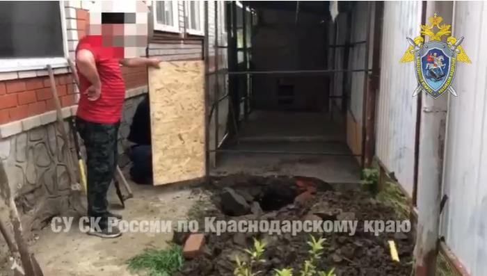 В Горячем Ключе мужчина убил и закопал отца, а сверху поставил будку
