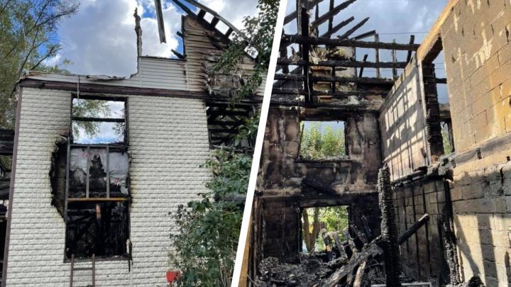 Семья уральских художников осталась без дома и одежды. Все сгорело в пожаре