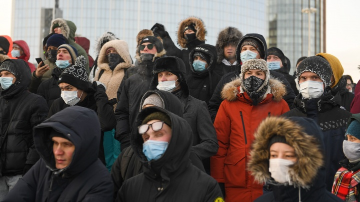 На двоих уральских подростков завели дела об участии в митинге 23 января