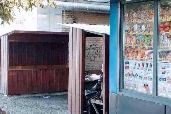 Такие места для уличной торговли организовали в Советском районе