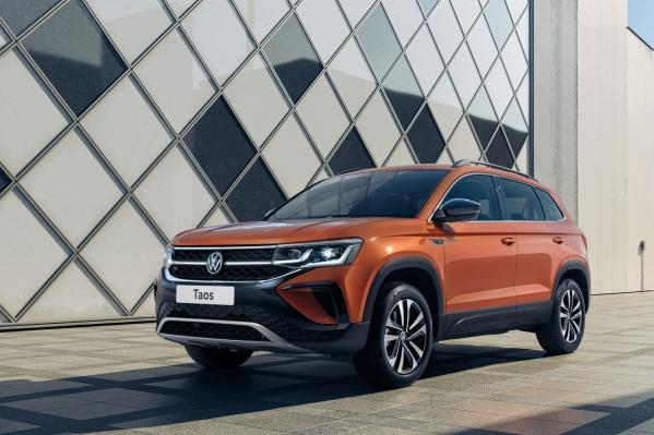Volkswagen Taos конкурирует с паркетниками калибра Nissan Qashqai и KIA Seltos