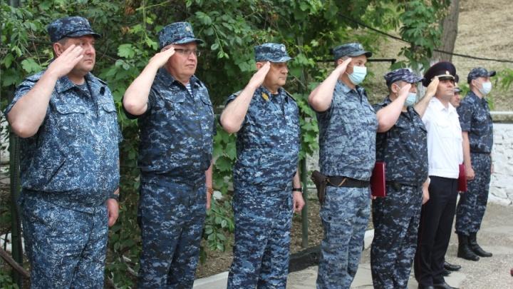 Начальник свердловской полиции проверил, как наши служат на Кавказе